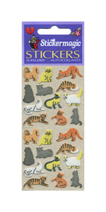 Pack of Furrie Stickers - Micro Cats