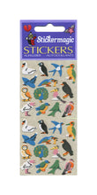 Load image into Gallery viewer, Pack of Furrie Stickers - Micro Birds
