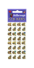 Load image into Gallery viewer, Pack of Prismatic Stickers - Micro Gold Cats