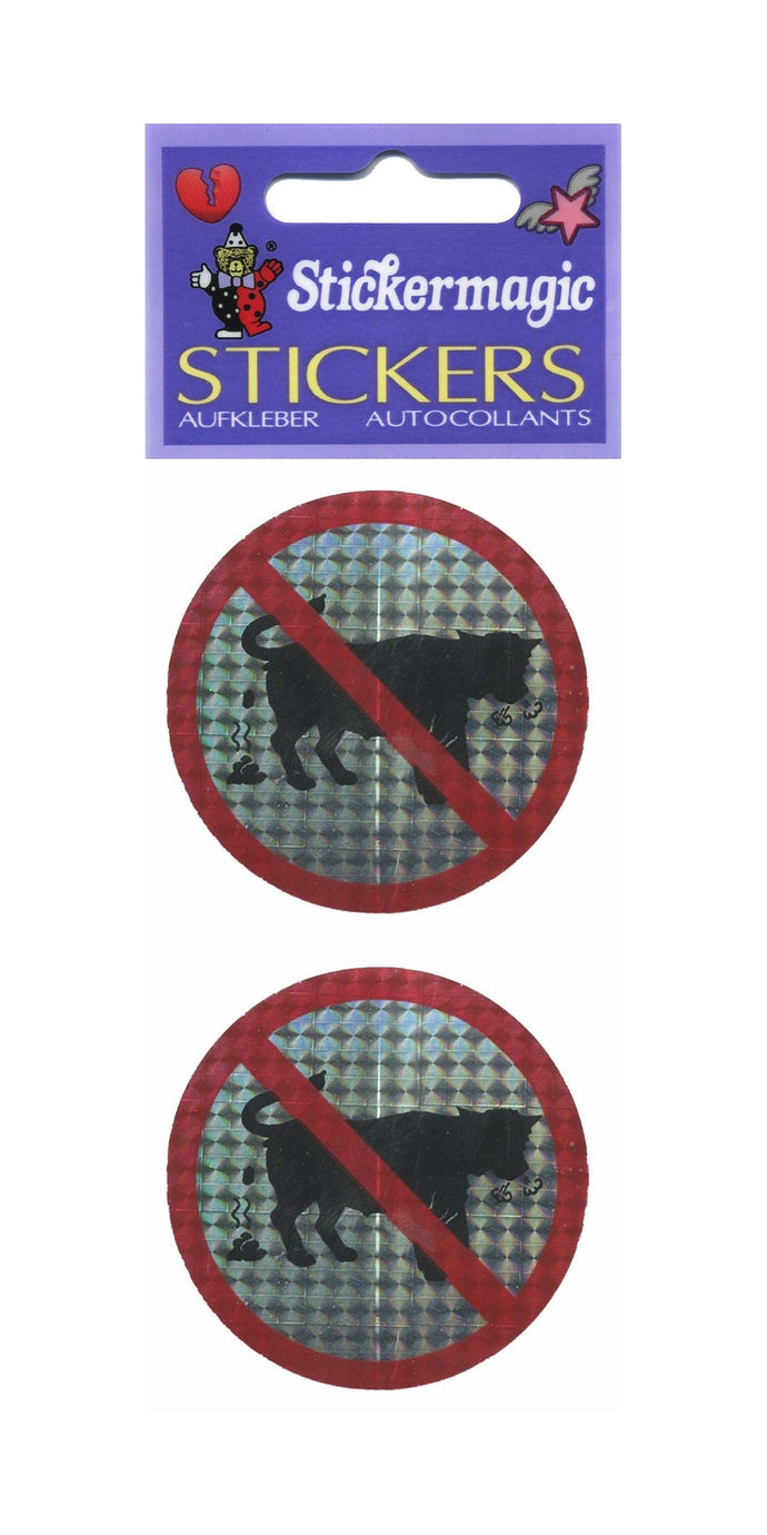 Pack of Prohibitive Prismatic Stickers - No Bull