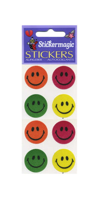Pack of Silkie Stickers - Smiley Faces
