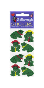 Pack of Silkie Stickers - Frog & Hat