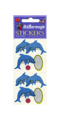 Pack of Silkie Stickers - Dolphins