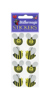 Pack of Silkie Stickers - Bees