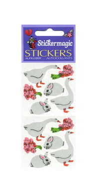 Pack of Silkie Stickers - Geese & Bunny