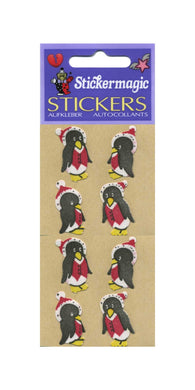 Pack of Furrie Stickers - Winter Penguins