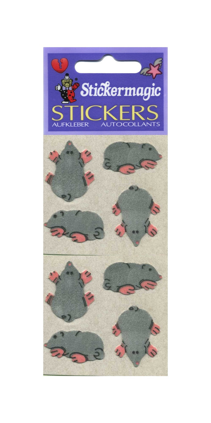 Pack of Furrie Stickers - Moles