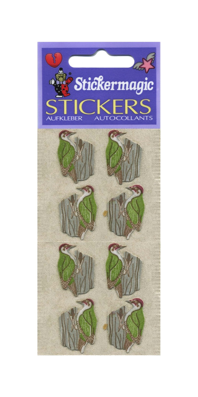 Pack of Furrie Stickers - Woodpeckers