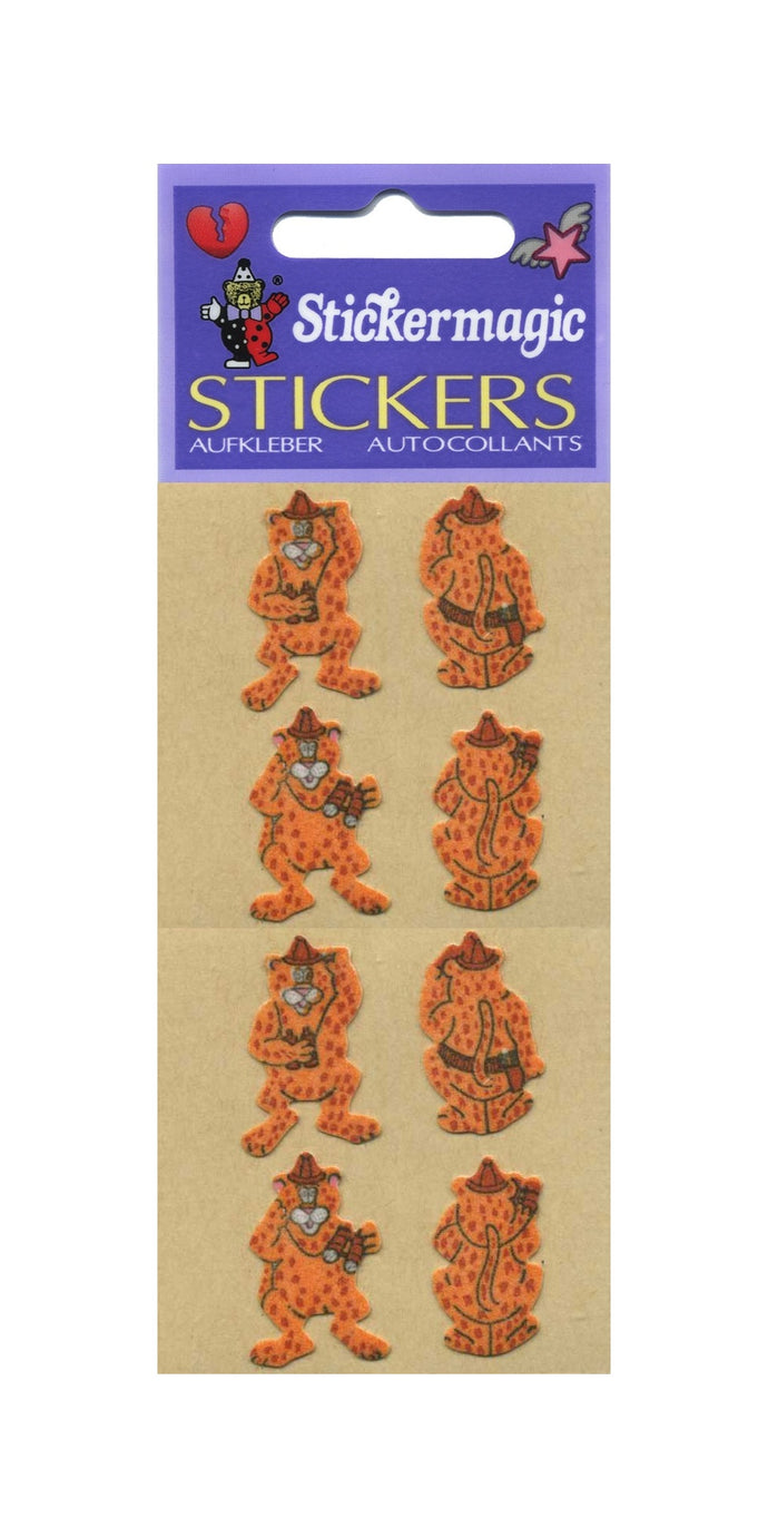 Pack of Furrie Stickers - Leopards