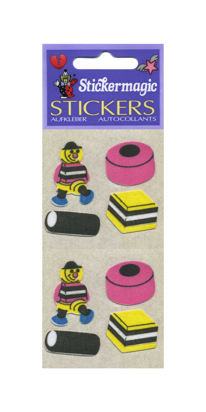 Pack of Furrie Stickers - Liquorice Allsorts