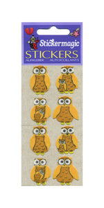 Pack of Furrie Stickers - Mother & Baby Owl
