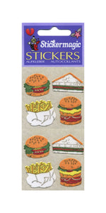 Pack of Furrie Stickers - Fast Food