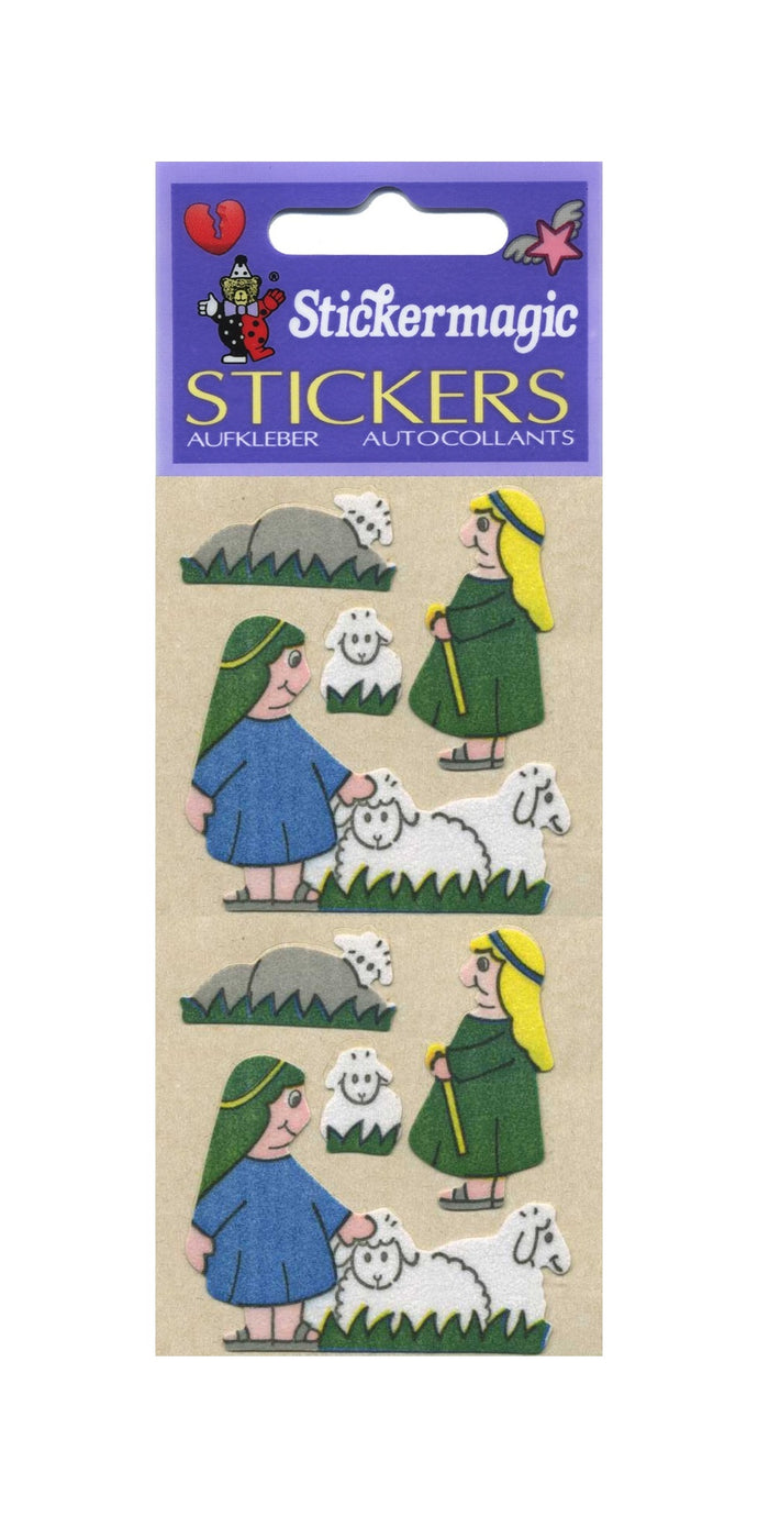 Pack of Furrie Stickers - Little Shepherds
