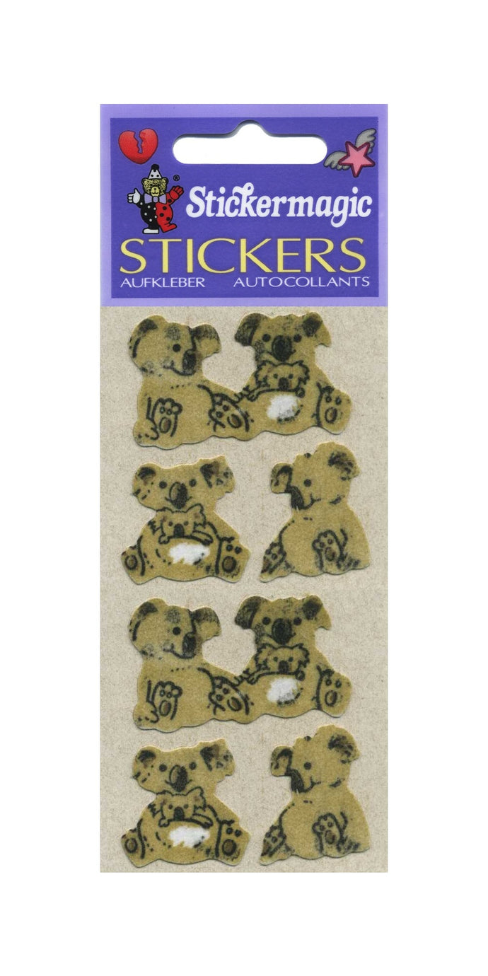 Pack of Furrie Stickers - Cute Koalas