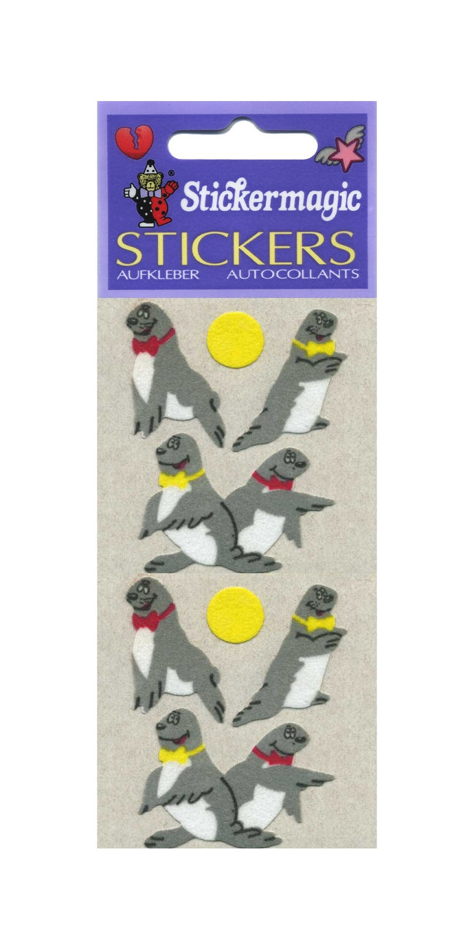 Pack of Furrie Stickers - Sea Lions