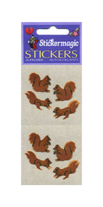 Pack of Furrie Stickers - Squirrels