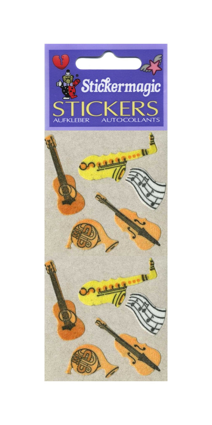 Pack of Furrie Stickers - Jazz Band