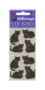 Pack of Furrie Stickers - Black Cats