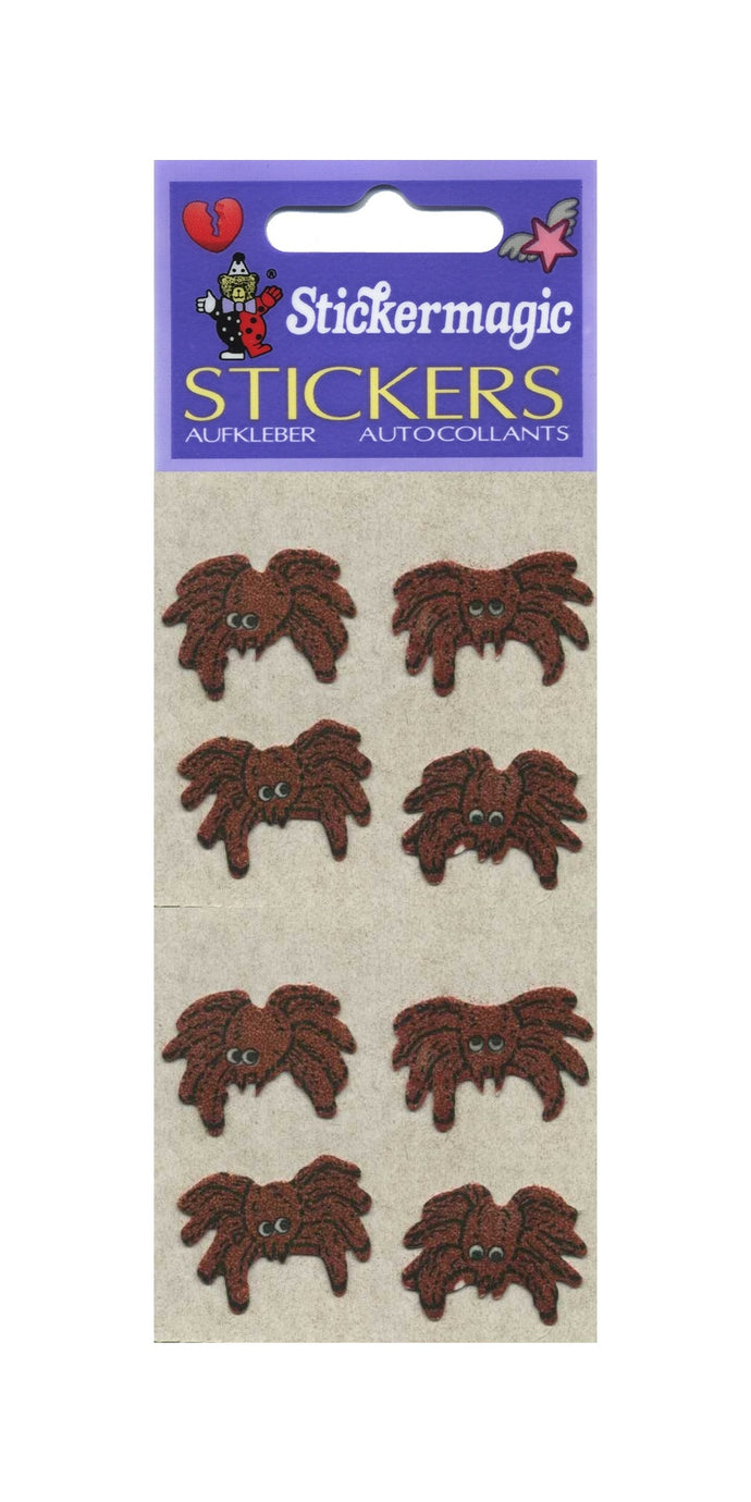 Pack of Furrie Stickers - Spiders