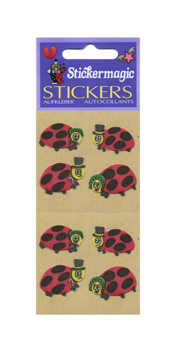 Pack of Furrie Stickers - Ladybirds
