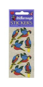 Pack of Furrie Stickers - Parrots
