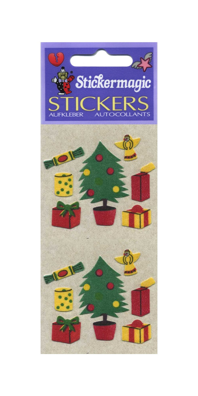 Pack of Furrie Stickers - Christmas Trees