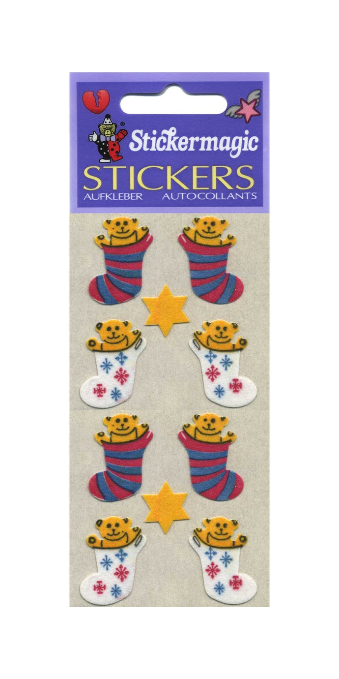 Pack of Furrie Stickers - Stockings