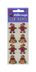 Pack of Furrie Stickers - Santa Bears