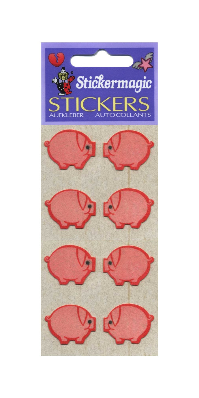 Pack of Furrie Stickers - Piggies