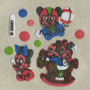 Pack of Furrie Stickers - Mickey Mouse and Minnie