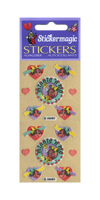 Pack of Furrie Stickers - Minnie Mouse with Hearts