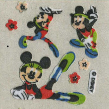Load image into Gallery viewer, Pack of Furrie Stickers - Minnie doing Gymnastics