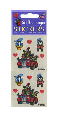Pack of Furrie Stickers - Mickey and Friends in Car