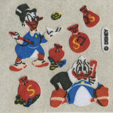 Load image into Gallery viewer, Pack of Furrie Stickers - Scrooge McDuck