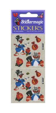 Pack of Furrie Stickers - Scrooge McDuck