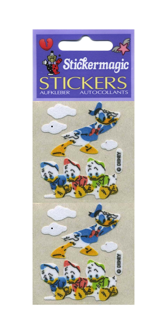 Pack of Furrie Stickers - Donald with Nephews