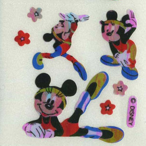 Pack of Pearlie Stickers - Minnie doing Gymnastics