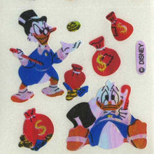 Load image into Gallery viewer, Pack of Pearlie Stickers - Scrooge McDuck