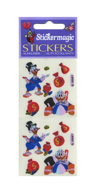 Pack of Pearlie Stickers - Scrooge McDuck