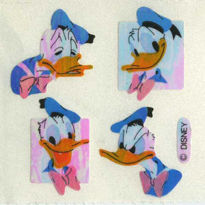 Pack of Pearlie Stickers - Donald Duck
