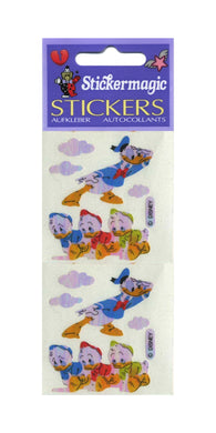 Pack of Pearlie Stickers - Donald with Nephews