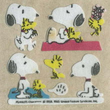 Load image into Gallery viewer, Pack of Furrie Stickers - Snoopy and Woodstock