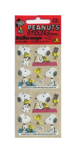 Pack of Furrie Stickers - Snoopy and Woodstock