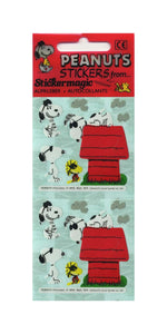 Pack of Paper Stickers - Joe Cool Snoopy