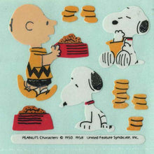 Load image into Gallery viewer, Pack of Paper Stickers - Charlie Brown and Snoopy