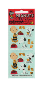 Pack of Paper Stickers - Charlie Brown and Snoopy