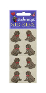 Pack of Furrie Stickers - Puppies Sitting
