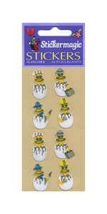 Pack of Furrie Stickers - Chicks In Eggs