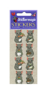 Pack of Furrie Stickers - Country Mice