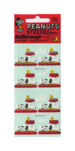 Pack of Paper Stickers - Snoopy I'm Waiting For Supper